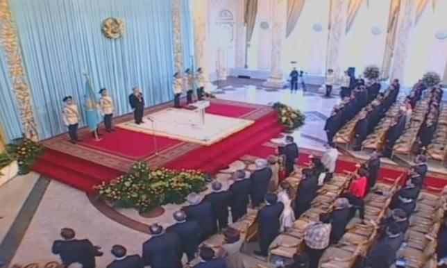 Акорда опубликовала видео инаугурации Президента РК 11 лет назад
