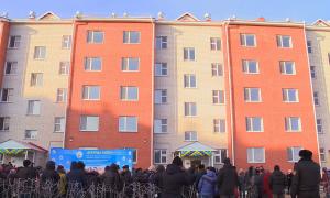 В Петропавловске 200 семей отпраздновали новоселье
