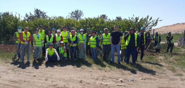 Астанада «Жасыл аймақ» экологиялық акциясы өтті