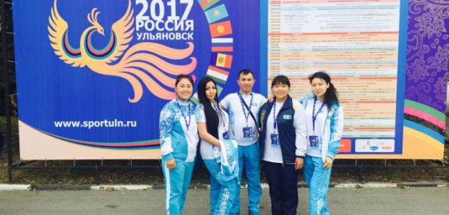 Столичные спортсмены показали блестящие результаты на фестивале среди стран СНГ