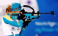 Галина Вишневская закрыла все мишени и попала в «цветы» в гонке преследования на этапе Кубка мира в Италии