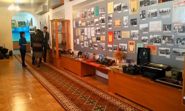 Музей в Костанайской области пополнился уникальным экспонатом