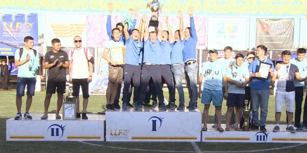 «Хабар» командасы әуесқой футболдан ел чемпионатының «С» лигасында үшінші орынды иеленді