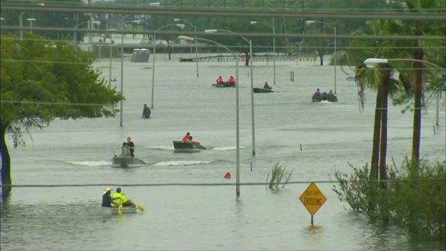 Убытки от урагана «Харви» могут достигнуть одного процента ВВП США