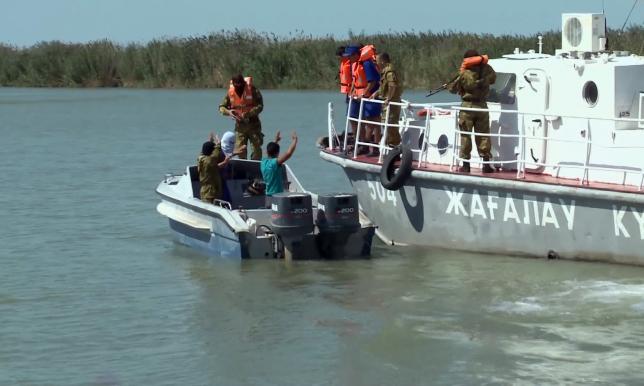 Каспий теңізінде браконьерлермен пәрменді күрес жүріп жатыр