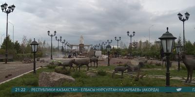 В Астане построили новую аллею «Ұлытау»