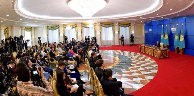 Глава государства рассказал об успехе EXPO 2017