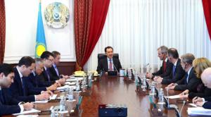 Б.Сагинтаев провел встречу с председателем правления компании ОМV
