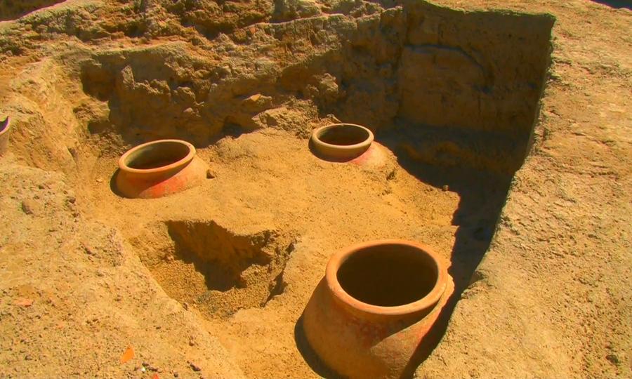 Археологтар Сыр өңірінен қыш ыдыстар өндірген шеберлер ауылын тапты