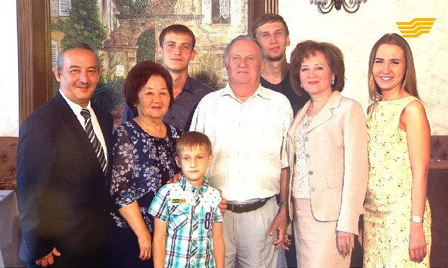«Мерейлі отбасы». Семья Солодовых, Костанайская область