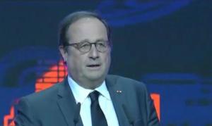 Францияның экс-президенті Франсуа Олланд АЭФ-ке келді