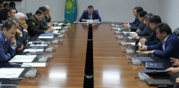Заседание городской комиссии по предупреждению и ликвидации ЧС прошло в Астан