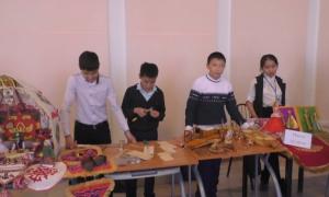 Ученики школ г.Атырау возрождают народное прикладное искусство