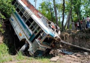 Үндістанда автобус апатынан 30-дан астам қаза тапты