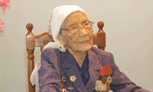 Ветеран войны Зинаида Гусманова получила полезный подарок от «Агентства «Хабар»