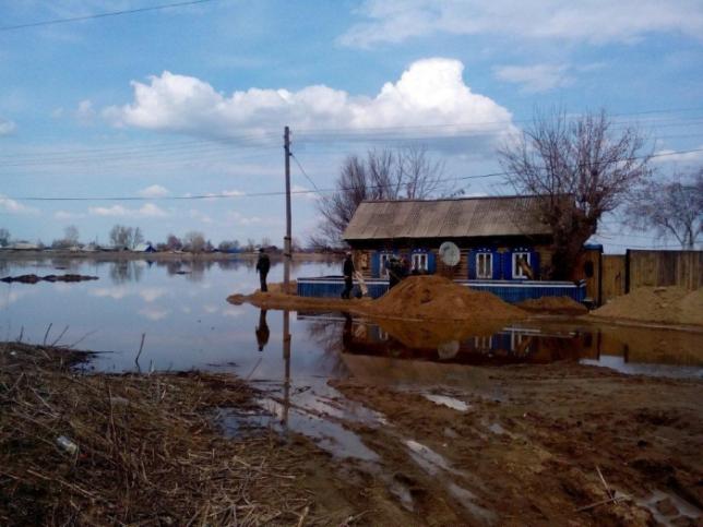 Первый этап паводков в Казахстане почти прошел