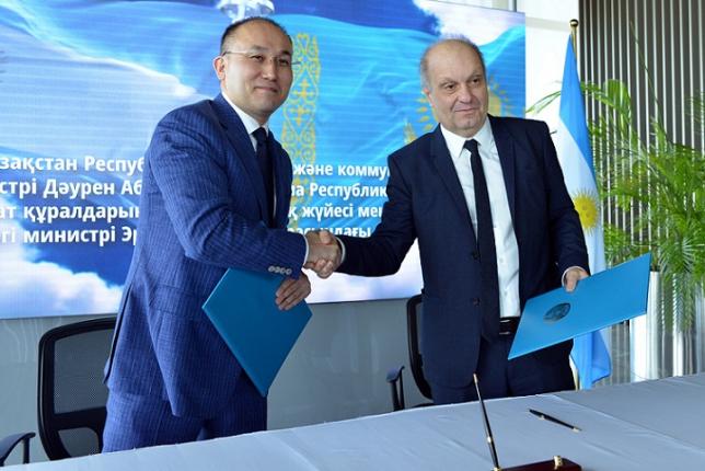 Казахстан и Аргентина будут сотрудничать в медиасфере