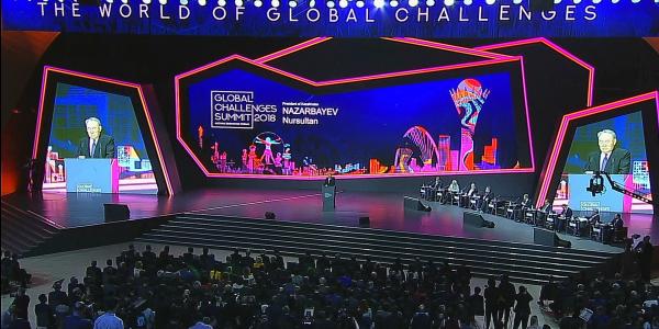 АЭФ-2018: Н.Назарбаев озвучил 5 мега-трендов развития мира