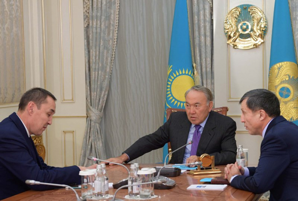 Президент принял главу Федерации профсоюзов РК