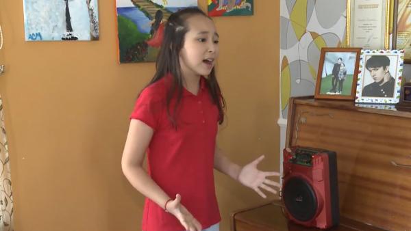 «Junior Eurovision 2018»: Атыраулық Санат Асуат – қабілетті бүлдіршін