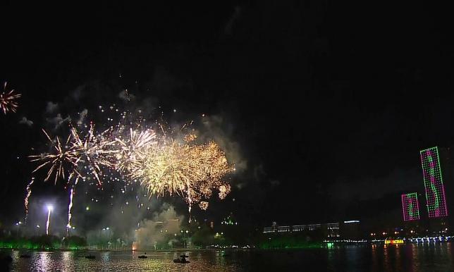 Где посмотреть праздничный фейерверк в Астане