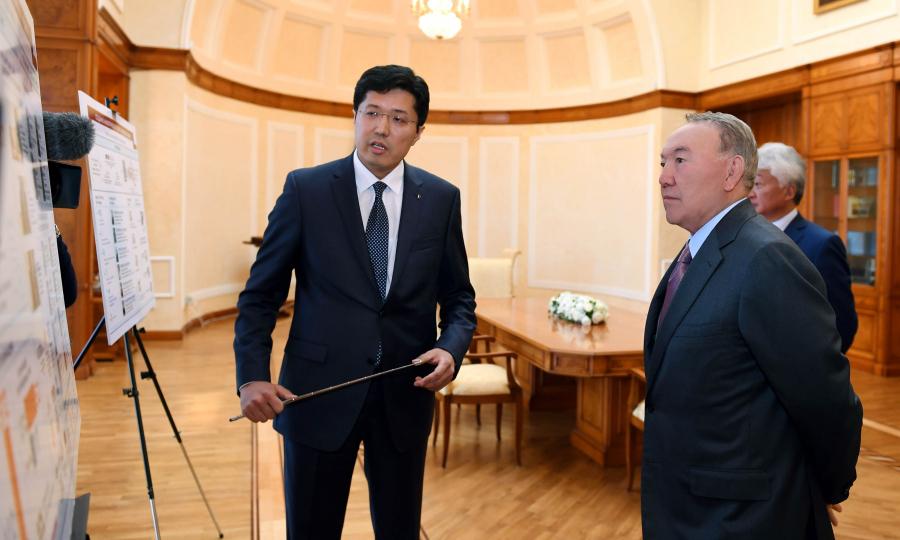 Глава государства посетил Фонд Первого Президента РК - Елбасы
