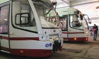 Павлодарға жаңа трамвайлар әкелінді