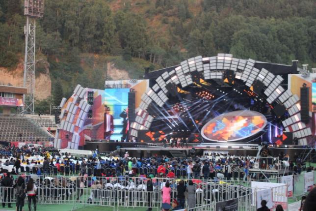 Алматыда Star of Asia халықаралық фестивалі өтіп жатыр