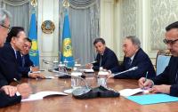 Глава государства провел встречу с экс-президентом Республики Корея