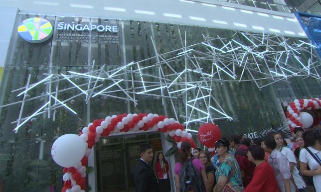 Павильон Сингапура раскрывает девиз страны – «маленький город больших идей»