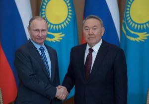 Ресей Президенті Владимир Путин Нұрсұлтан Назарбаевты Жаңа жыл мерекесімен құттықтады
