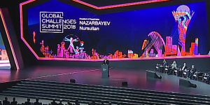 Елбасы Нұрсұлтан Назарбаев Астаналық экономикалық форумына қатысты