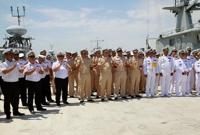 Военные корабли Казахстана прибыли в Баку на «Кубок моря-2017»
