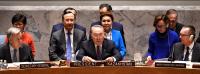 Глава государства выступил на заседании в Совете Безопасности ООН