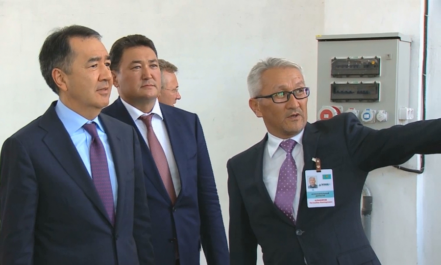 ҚР Премьер-Министрі Бақытжан Сағынтаев Павлодар облысында болды