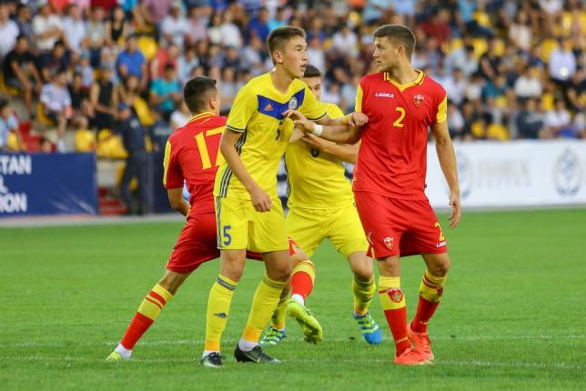 Футболдан Қазақстанның жастар құрамасы Францияға есе жіберді