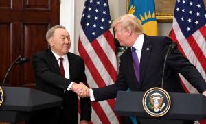 Нурсултан Назарбаев встретился с Президентом США Дональдом Трампом