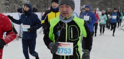Победители первого зимнего марафона объявлены в Астане