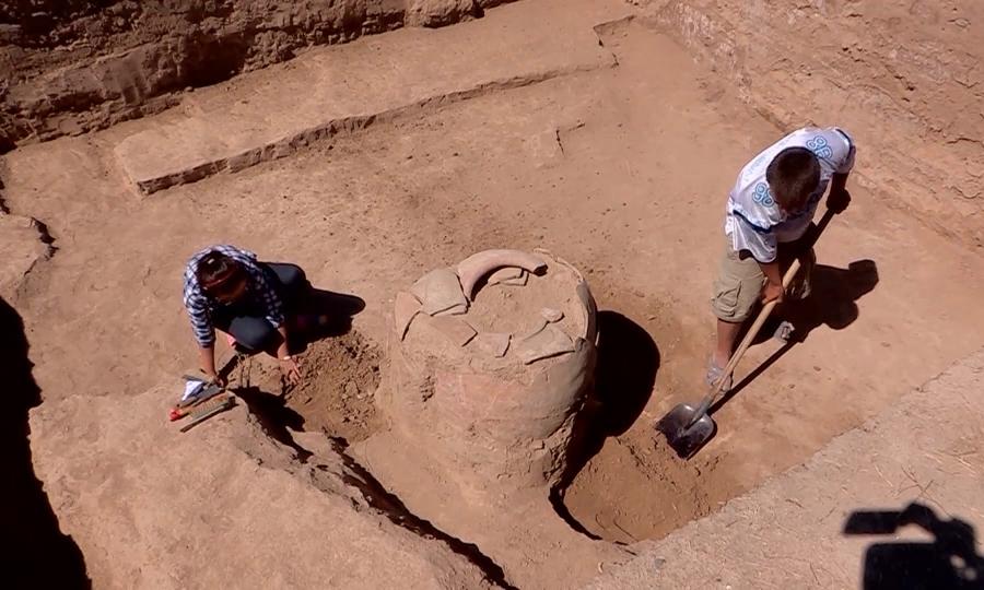 Күлтөбеде Кушан патшалығынан қалған монета табылған