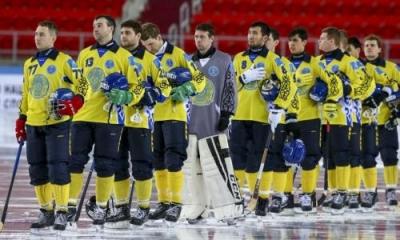 Сборная Казахстана одержала третью разгромную победу на ЧМ-2018 по бенди
