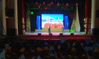 Карагандинцы поздравили казахстанцев с юбилеем столицы