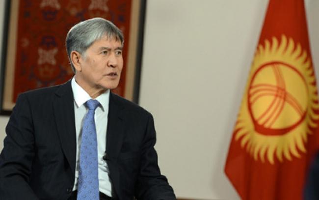 Қырғыз Республикасы Президентінің сұхбаты