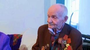 Подарки от «Агентства «Хабар» получил ветеран ВОВ Михаил Петрунин