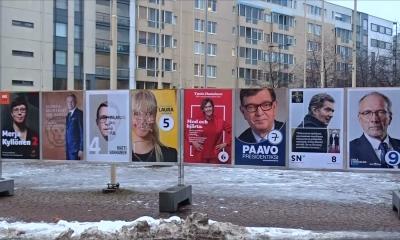 Финляндияда өткен президент сайлауында Саули Ниинистё жеңіске жетті