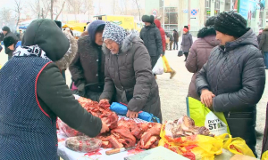 Орал қаласының басшылығы тұрғындарға арнап азық-түлік жәрмеңкесін ұйымдастырды