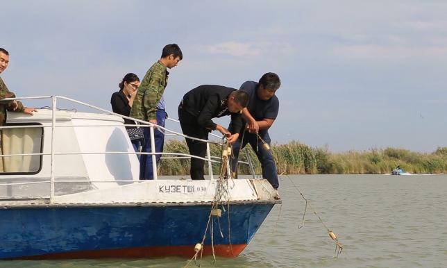 Атырау облысында заңсыз балық аулаушыларға 15 млн теңгеге жуық айыппұл салынған