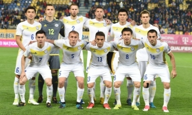 Стал известен стартовый состав сборной Казахстана на матч против Армении