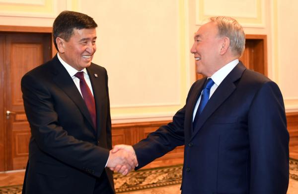Қырғызстан Президенті С.Жээнбеков қазақстандықтар мен Н.Назарбаевты Тәуелсіздік күнімен құттықтады
