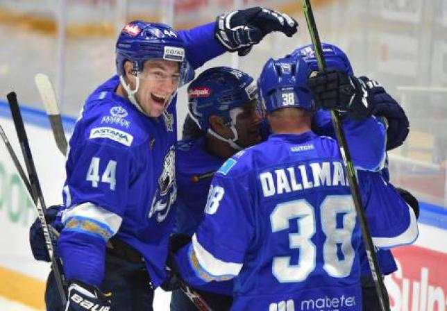 «Барыс» вышел на первое место в Восточной конференции КХЛ