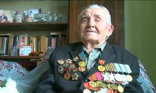 Ветеран ВОВ Иван Слинько из Уральска получил памятный подарок от агентства «Хабар»